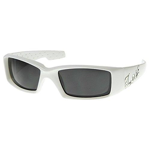 Authentic Hardcore Black LOCS Sunglasses for Men and Women with Gloss - Authentic Sunglasses Locs