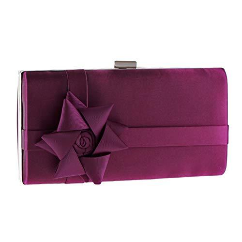 Sac Sacs Couleur Pochette Embrayages à Personnalité de de Red téléphone Portable Amérique Femme Purple Banquet pour et Europe Sacs Femmes Mode bandoulière 44qZrHxw