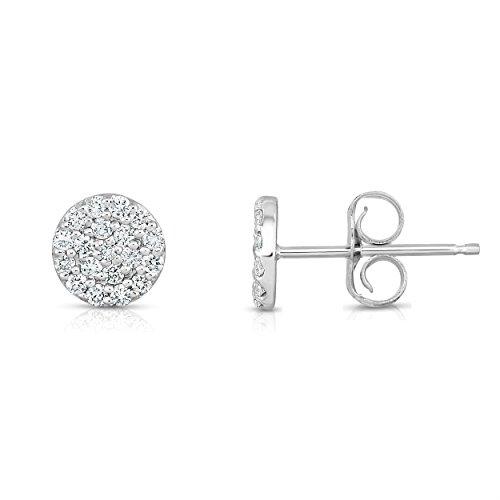 Noray Designs 14K White Gold Diamond (0.38 Ct, G-H Color, I1-I2 Clarity) Circle ()