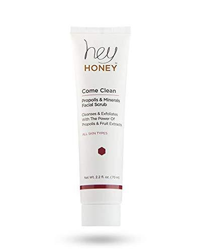 - Hey Honey Come Clean! Facial Scrub - Propolis and Minerals - 70 ml