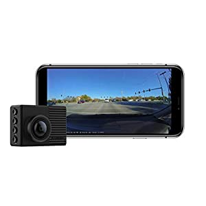 Garmin Dash Cam 66W, Extra-Wide 180-Degree Field of View In 1440P HD, 2″ LCD Screen and Voice Control, Very Compact with Automatic Incident Detection and Recording , Black