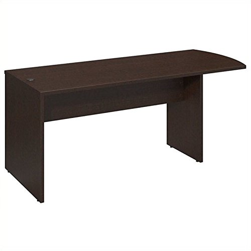 Bush Business Furniture Series C Elite 72W x 30D Peninsula in Mocha Cherry