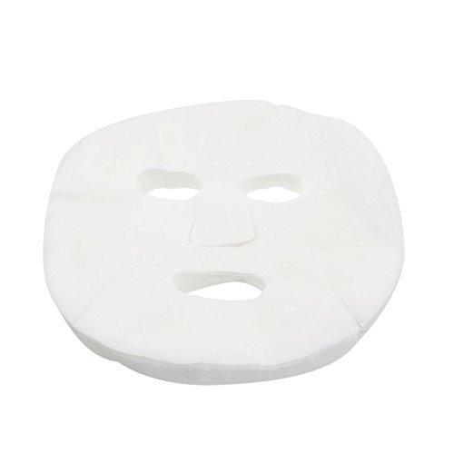 paper masks - TOOGOO(R)1 Bag(60pcs) DIY Professional Skin Care Cosmetic Cotton Facial Mask Sheet For Ladies-White (Care Skin Professional)