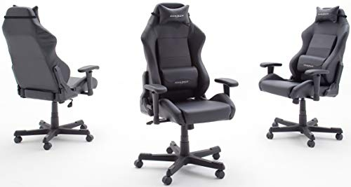Robas Lund DX Racer 3 Chaise Gaming l'original, Bureau Siège de Bureau, avec fonction basculant Chaise Gamer Chaise PC…