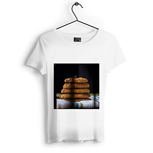 Westlake Art - Cookie Food - Unisex Tshirt - Picture Photography Artwork Shirt - White Adult Medium (D41D8)
