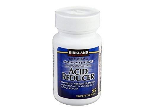 Kirkland Signature Maximum Strength Acid Reducer Ranitidine 150mg, 95 Tablets