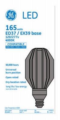 G E Lighting 3 Packs GE 165W HID LED Bulb