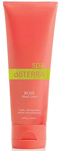 doTERRA - SPA Rose Hand Lotion - 3.3 fl oz (Spa Essentials Lotion)