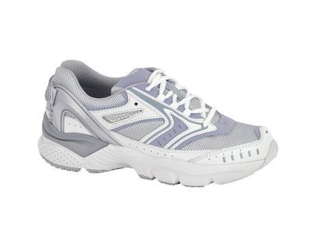 (Apex X532W Reina Running Shoe, White/Periwinkle 7 )