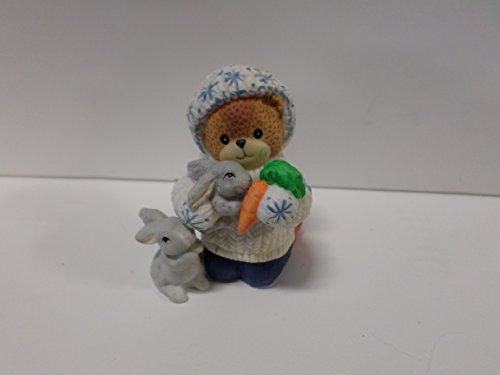 Lucy & Me Series (Enesco) **Bear with Bunny Figurine ** 185884