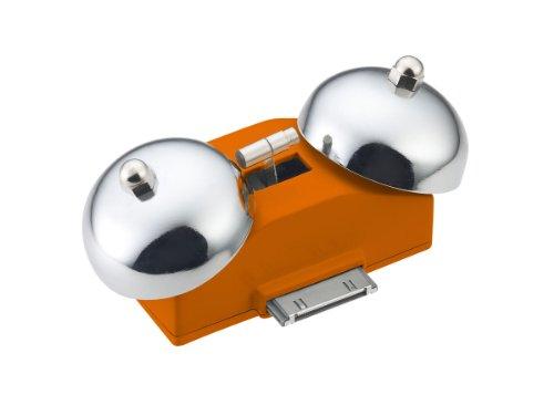 iBell Mini Wake Up Alarm for iPhone 4/4S (Orange)