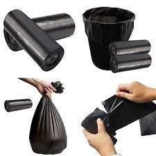 Cartridge Way 超強度 低密度 漏れ防止 ゴミ袋 サイズ 30x38インチ 80リットル 容量20ガロン 厚さ1.3ミル 1箱につきブラック 000袋 B07G8B4DK3