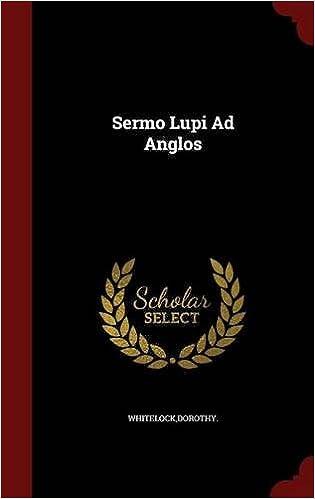 Book Sermo Lupi Ad Anglos