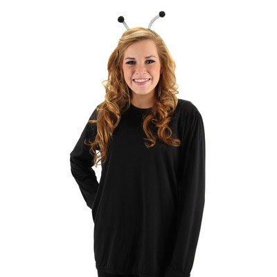 Elope Antenna Costume Headband - Black - Wiggly