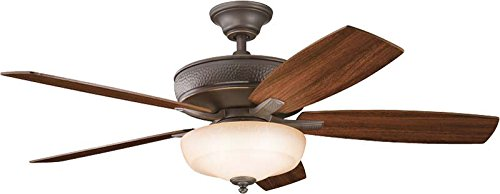 Kichler 339213OZ 52-Inch Monarch II Select Fan, Olde Bronze