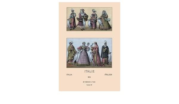 8a60697d18 Amazon.com: Traditional Italian Dresses Fine art Giclee canvas print (20
