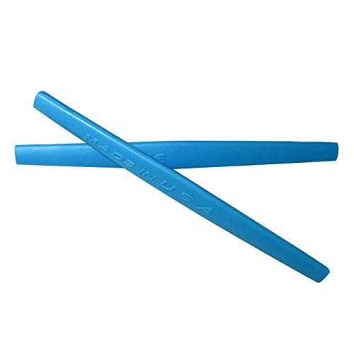 HKUCO Blue Replacement Silicone Leg Set For Oakley Whisker Sunglasses Earsocks Rubber Kit -  4331580767