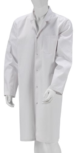 Kokott Bata de Laboratorio Niños Bata algodón Blanco Pintor Abrigo niños, Blanco, 140 /