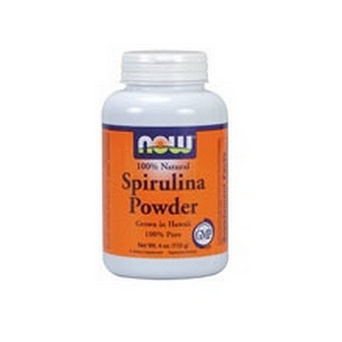 Now Spirulina Powder, 4-Ounces (Pack of 2)