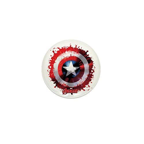 CafePress Cap Shield Spattered 1
