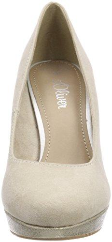 Comb Closed oliver 22400 S toe Women''s Pumps ivory Beige qt4xw8Fn