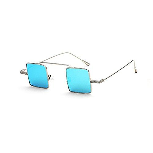 para UV400 sol Ligero Beach Selfie polarizadas Color Sandy Gafas Azul de Azul Gafas para mujer conducción hombre de YXX 161IZ
