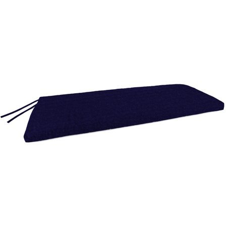 Mainstays- Solid Navy Outdoor Patio Bench Cushion Solid
