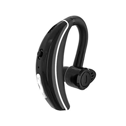 Libison Bluetooth 4.1 Headphones, True Wireless Earbuds Magnetic Waterproof IPX5 HiFi Stereo Headset Mini in-Ear Earphone Cordless Sports Earpiece with Built-in Mic (Black)