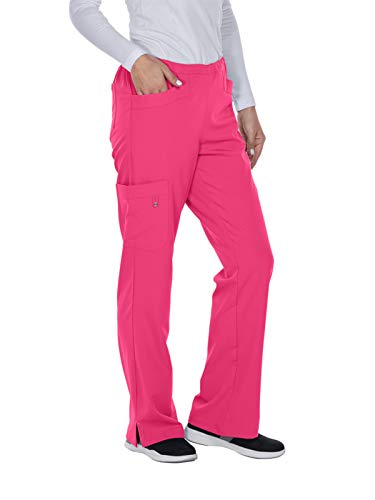 Grey's Anatomy Signature 2208 April Cargo Pant Chateau Rose XL Tall