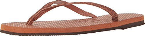 Havaianas Women's You Animals Sandal, Rust,39/40 BR (9-10 M - Havaianas Brown