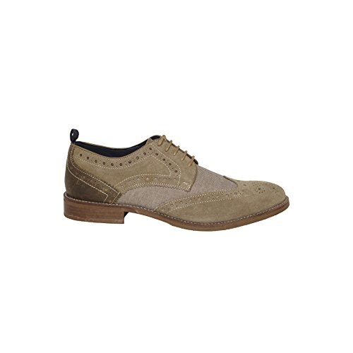Nebulus Zapatos de cordones Bottes Taupe EU 44