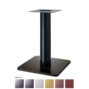 e-kanamono テーブル脚 スカイS7520 ベース520x520 パイプ76.3φ 受座240x240 基準色塗装 AJ付 高さ700mmまで ジービーメタリック B012CF4NCQ ジービーメタリック ジービーメタリック