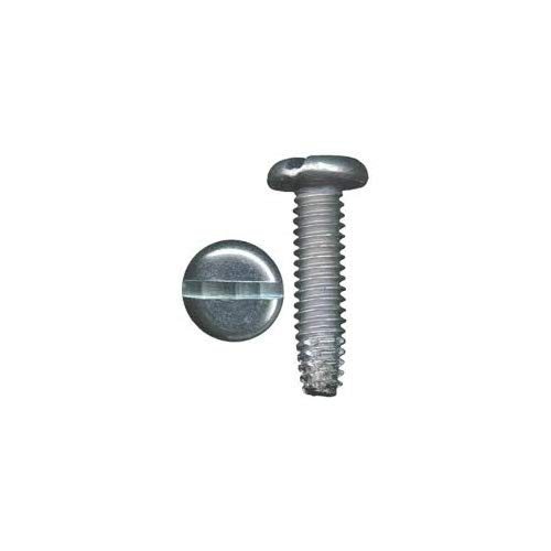 8-32 X 5//8 Slotted Pan Type F Thread Cutting Screw 410 Stainless Steel Package Qty 100