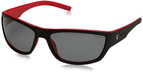Polaroid Sports Sonnenbrille (PLD 7007/S) Black Red
