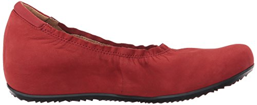 Wish Red US Softwalk 11 Black Flat Women's M qxwFP56