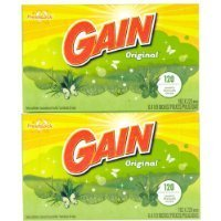 Softgel Sheets - Gain Dryer Sheets - Original Fresh - 120 ct - 2 pk Sold By HERO24HOUR Thank You