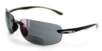 fad9732212 Amazon.com  Aloha Eyewear Oahu Sun Rimless Lightweight TR-90 Bifocal ...