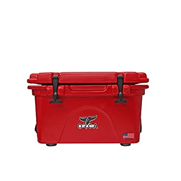 ORCA Cooler, Red/Red, 26 Quart