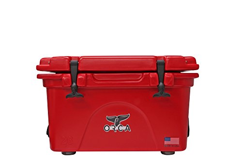 (ORCA Cooler, Red/Red, 26 Quart)
