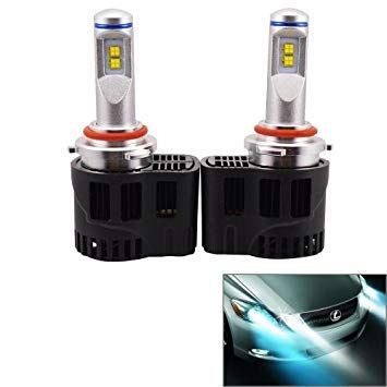 Uniqus 2 PCS ZY-HB4JGDP6-55W Philips MZ 5200LM 6000K White Light Car LED Head Lamp with Driver, DC 11-30V