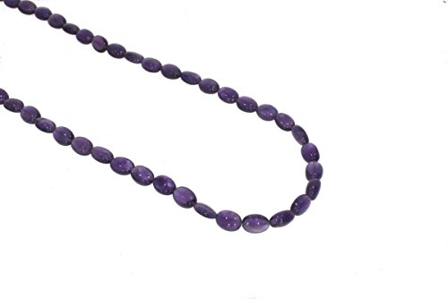 Amethyst smooth Rondelle Purple Gemstone Beads 7x9 to 7x10mm AA Necklace