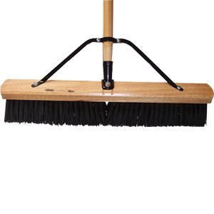 """Dqb Industries 09944 Push Broom with Handle and Brace, 24"""""""