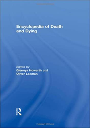 Kostenlose Bücher E-Books herunterladen Encyclopedia of Death and Dying PDF 0415188253