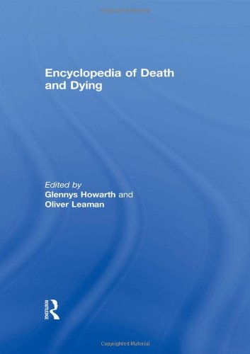 Encyclopedia of Death and Dying