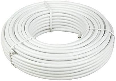 Diesl.com - Kit Antena parabolica de Television satelite Digital - 80cm + LNB Twin + Soporte + 20 Metros de Cable + Tacos a Pared + Conectores + 10x ...