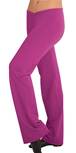 Body Wrappers Girls VFRNT JAZZ PANT (BWP096) -BLACK -8-10 by Body Wrappers
