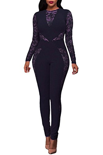 Womens Sleeve Bodycon Jumpsuits Rompers