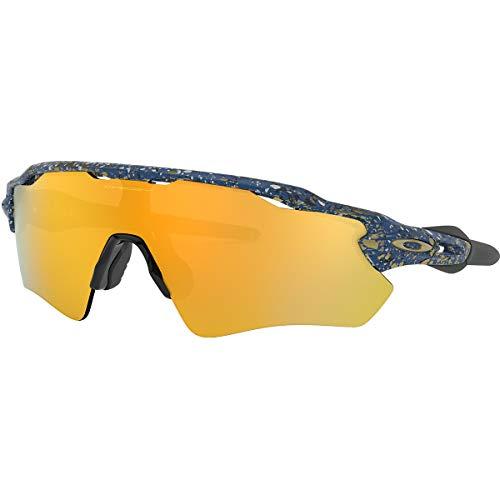 Oakley Radar Ev Path Metallic Splatter Collection Sunglasses,OS,Splatter Poseidon/24k Iridium
