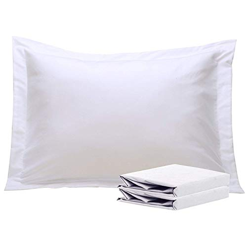 - NTBAY 100% Brushed Microfiber Standard Pillow Shams Set of 2, Soft and Cozy, Wrinkle, Fade, Stain Resistant, Standard, White