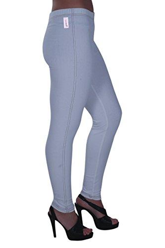 Eyecatch tendue Grand Taille Pantalon Jeggings Aux Blanc Jeans Starla Femmes Dames 1Z1Rq
